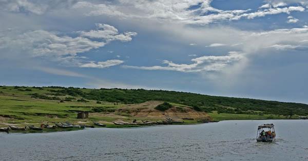 Kazinga Channel in Queen Elizabeth National Park