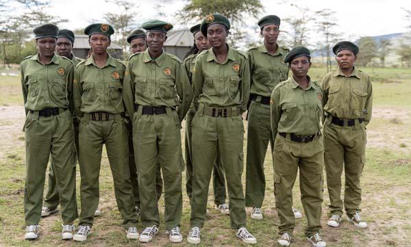 Women rangers unit Masai Mara