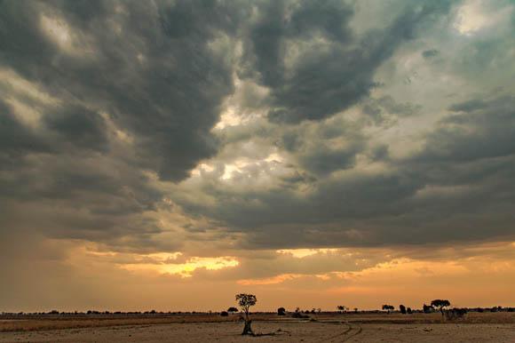 Sunset over Nsefu, South Luangwa