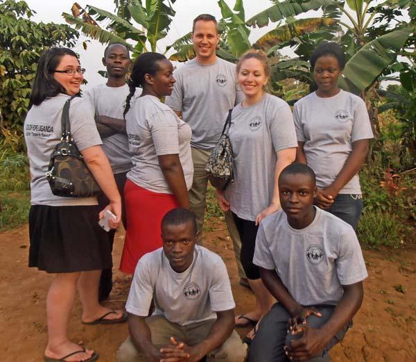 Go Volunteer Africa team members in Uganda