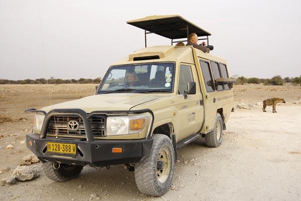 Specialist guided safari