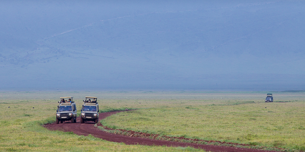 Ngorongoro Crater vehicles