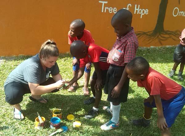 Go Volunteer Africa team