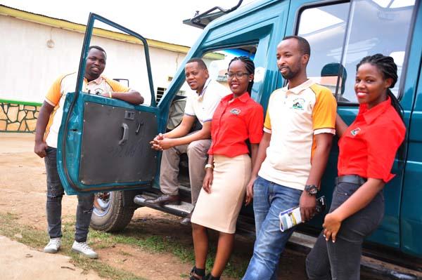 Wildlife Tours Rwanda team