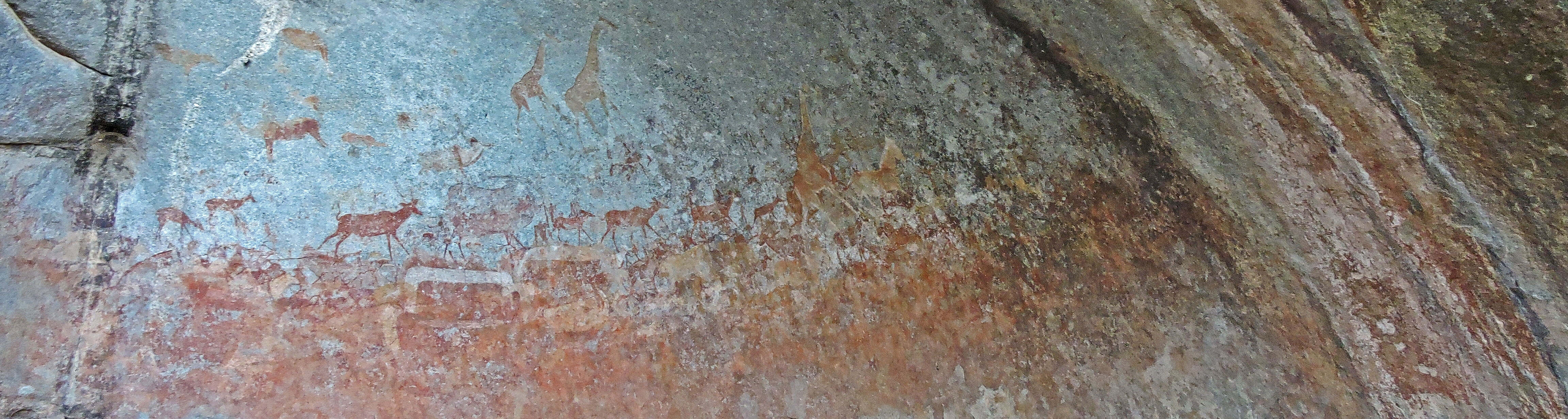 Rock paintings in Matobo National Park, Zimbabwe | Jaimie-Lee Holtzhausen